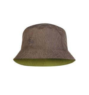 Buff Καπέλο Travel Bucket Hat Shady Khaki
