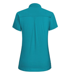 Salewa Puez Minicheck Dry Short Women Shirt