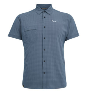 Salewa Puez Minicheck Dry SS Men Shirt
