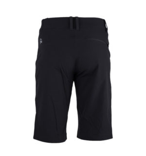 NORTHFINDER DWAYNE Men's trekking shorts with bonded pocket  black